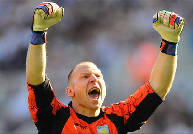 Brad Guzan named Aston Villa player of the month for October