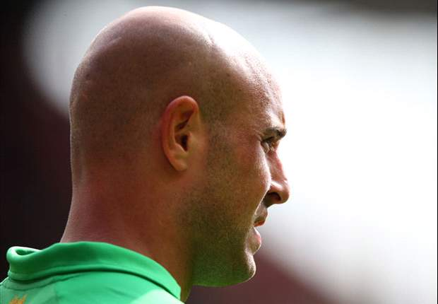 Reina in race to be fit for Reading clash, reveals Liverpool boss Rodgers