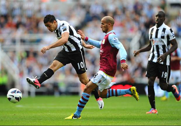Newcastle 1-1 Aston Villa: Stunning Ben Arfa strike saves hosts from defeat