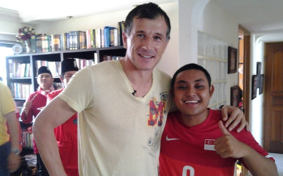 Fans get surprise Hari Raya visit from Duric