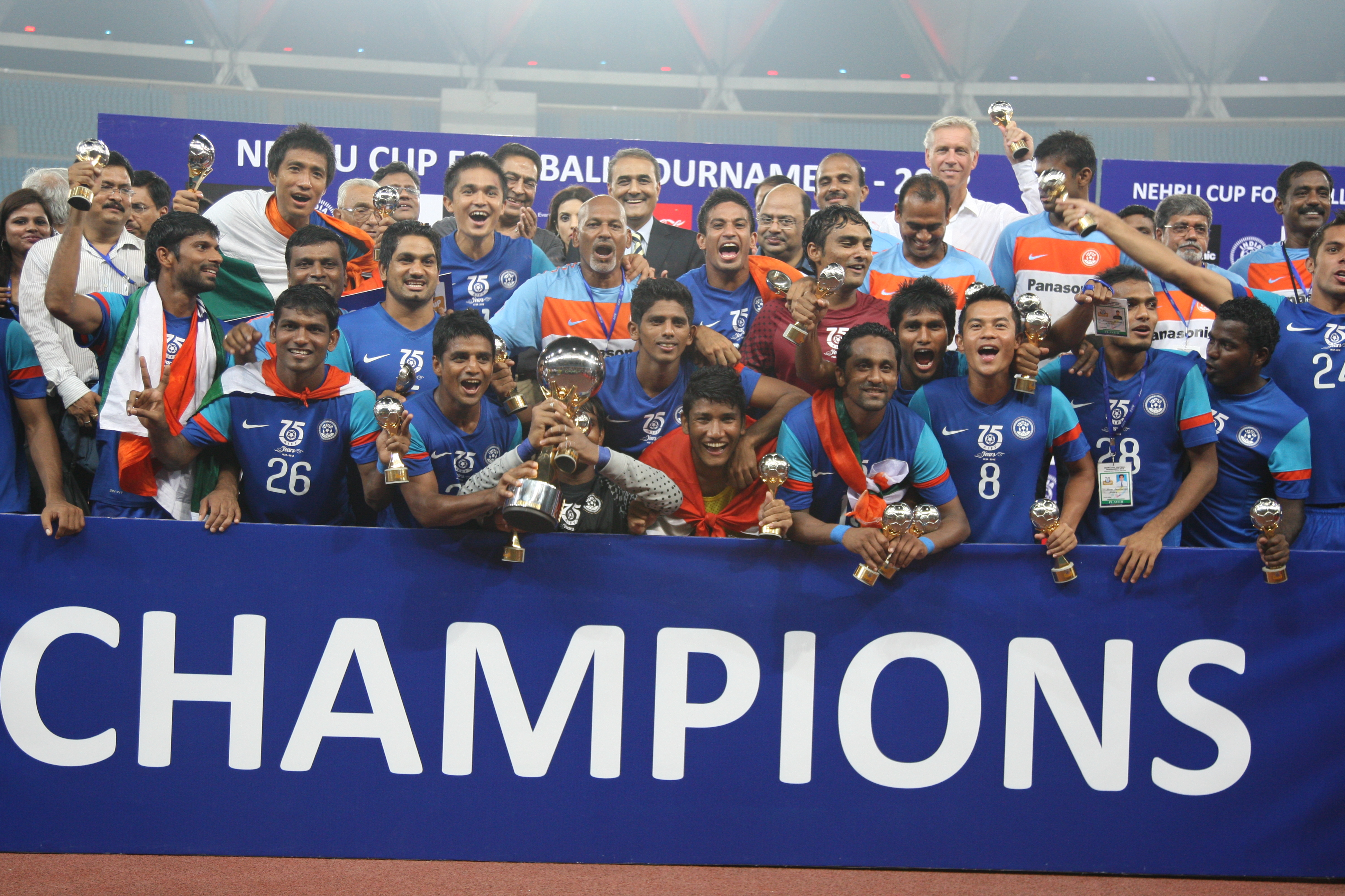 Nehru Cup: How did the Indians fare?
