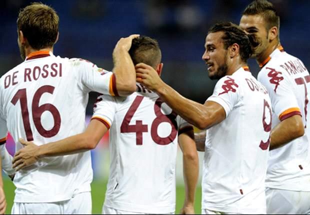 Inter de Milán 1-3 Roma: Francesco Totti regala la victoria a los 'Giallorossi'