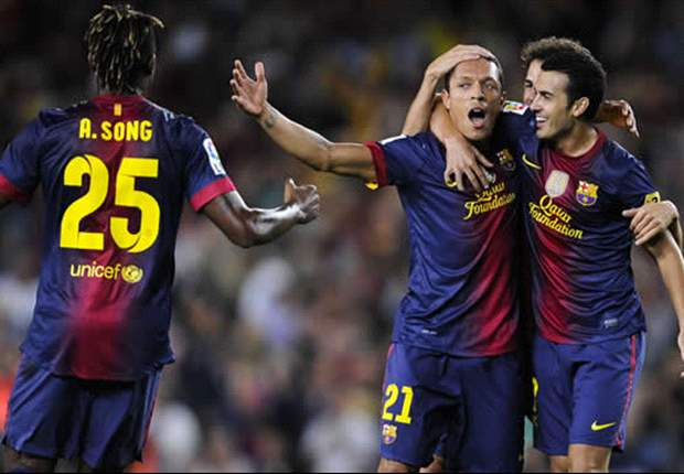 Barcelona 1-0 Valencia: Adriano stunner maintains perfect start to season