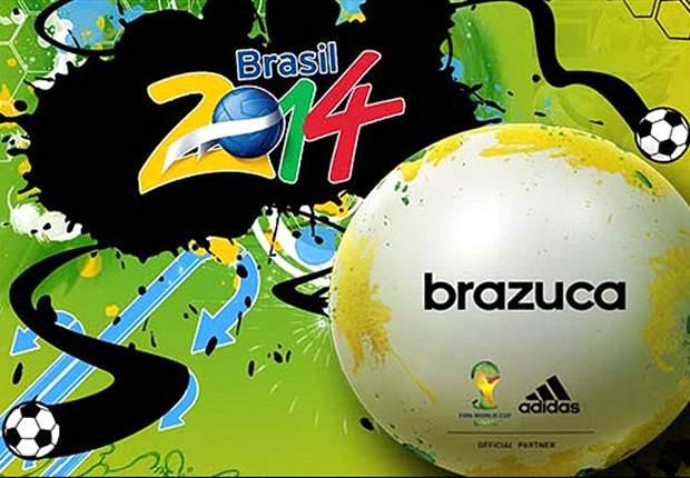 آدیداس و معرفی برازوکا (توپ جام جهانی)در برزیل