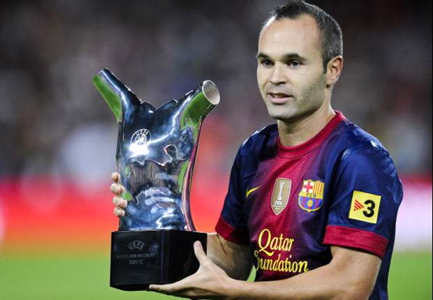 Iniesta targets Champions League glory with Barcelona