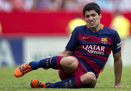 Barca lack last year's punch - Suarez