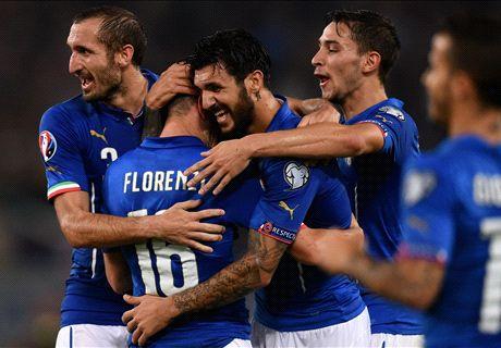 Florenzi & Pelle force Italy turnaround