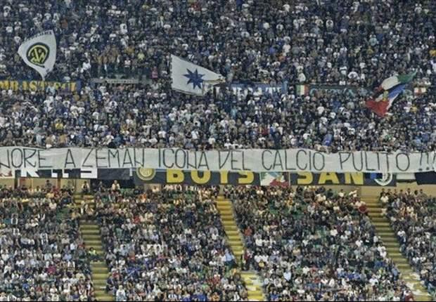 """I tifosi dell'Inter rendono onore a Zeman (""""Icona del calcio pulito""""), lui ringrazia: """"Lo sport deve essere divertimento"""""""
