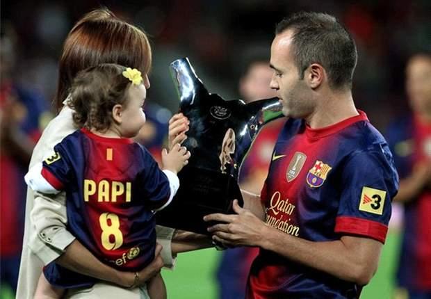 Andrés Iniesta y un hermoso gesto para con una chica con Síndrome de Down
