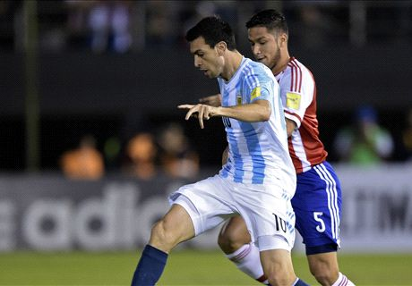 Paraguay 0-0 Argentina: Sill winless
