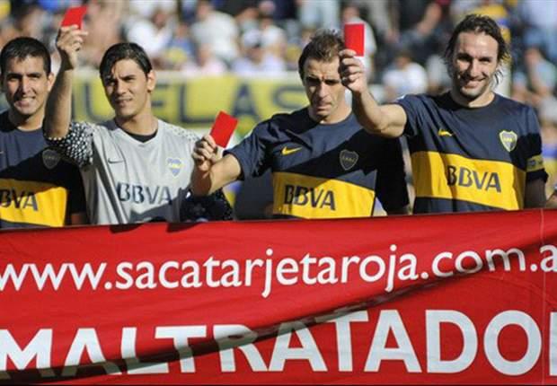 El fútbol le saca tarjeta roja a los maltratadores