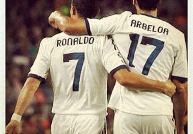 Arbeloa: Cristiano has the same smile as always