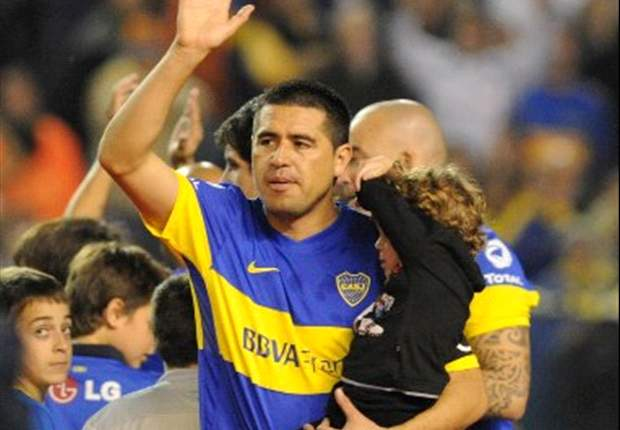 'I'm not interested in what Maradona says' - Riquelme call