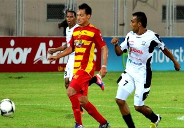 Con gol de Evelio Hernández, Anzoátegui derrotó al Caracas y acaricia el título