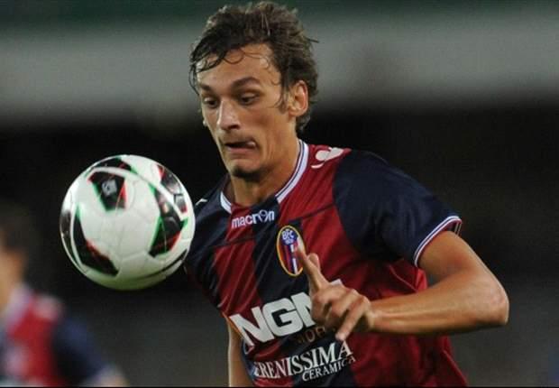 """Gabbiadini 'rompe il ghiaccio' col Bologna: """"Felicissimo per il goal, ma soprattutto per la vittoria"""""""