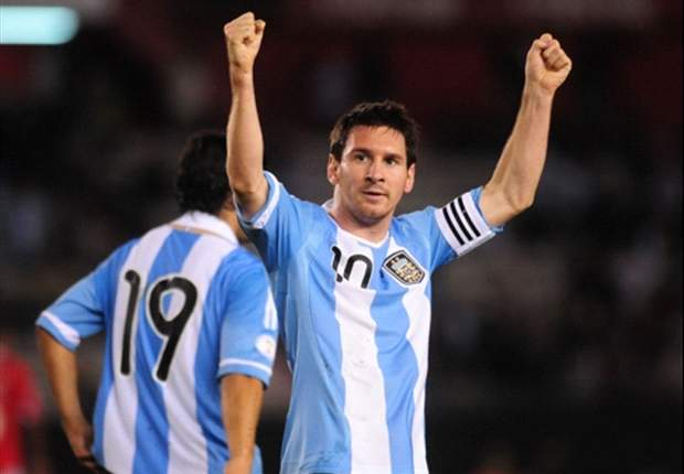 Messi eyes 'dream' success with Argentina
