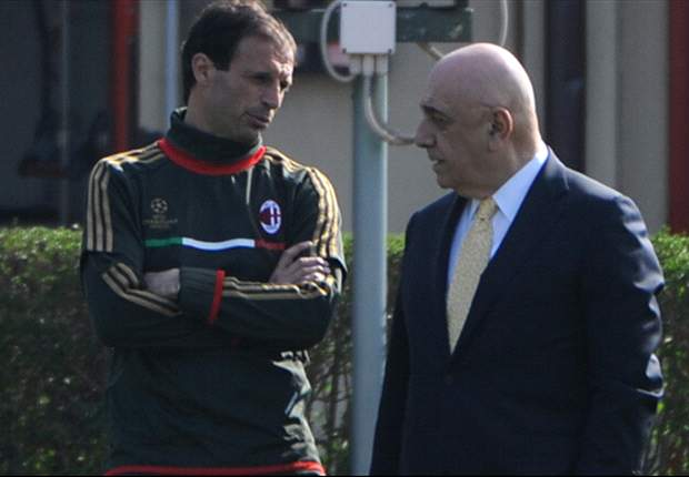 Summit di mercato in casa Milan, in corso l'incontro Galliani-Allegri per definire le strategie future