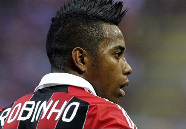 Santos reveal talks with AC Milan's Robinho
