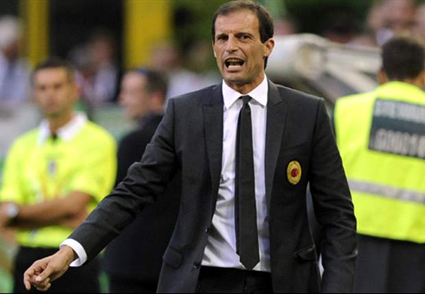 AC Milan's Allegri: I'm a little bit worried, it's not good enough to be playing like this