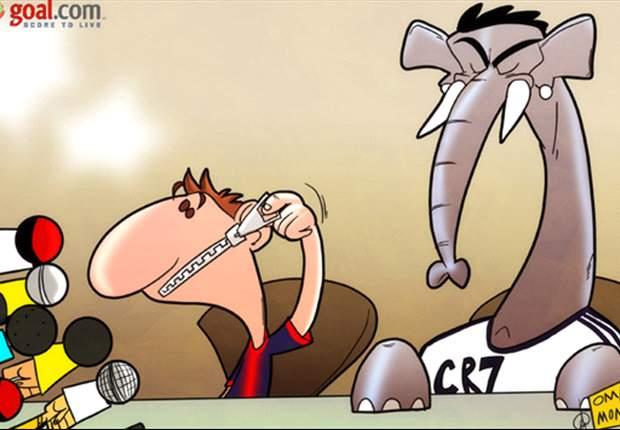 Lionel Messi evita hablar de Cristiano Ronaldo