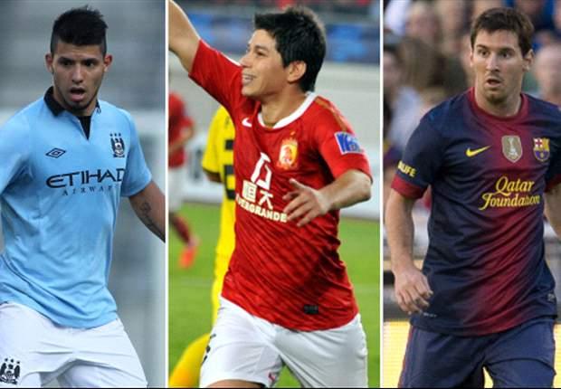 Tres argentinos entre los mejores salarios del fútbol mundial
