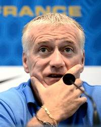 Didier Deschamps, Francia Internacional