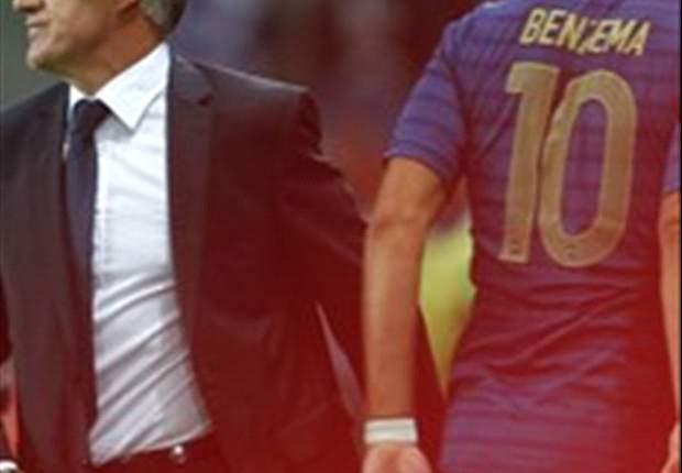 Didier Deschamps: Esperaba que Karim Benzema y Olivier Giroud ya hubiesen marcado a estas alturas
