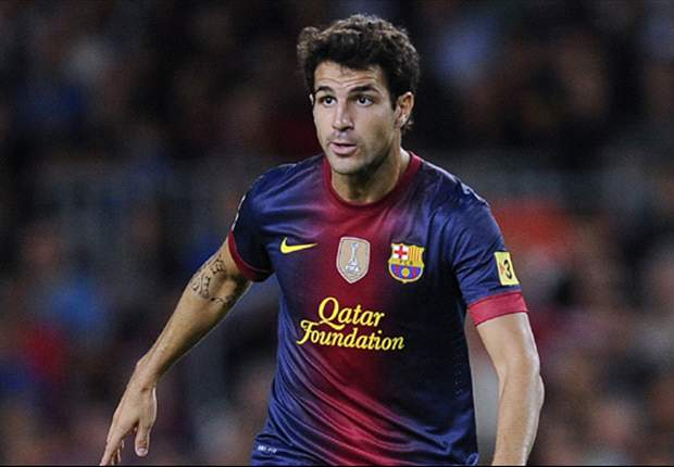 Fabregas out for up to four weeks with thigh injury