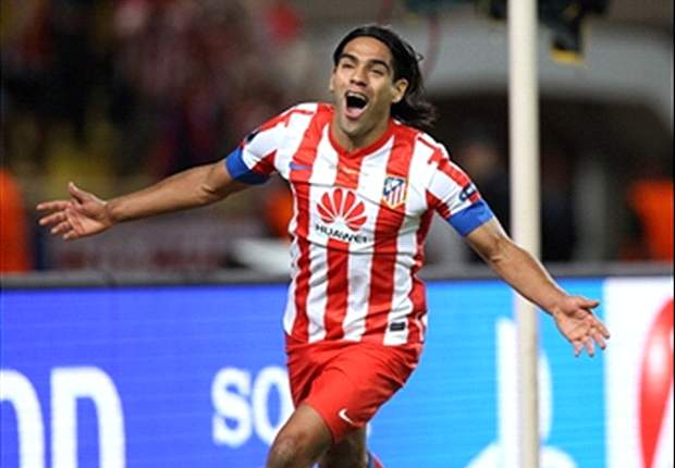 Falcao on par with Hugo Sanchez, says Simeone