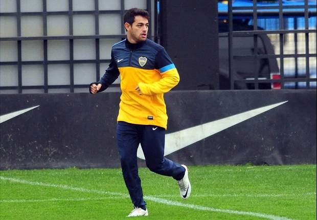 """Boca: Acosta, """"Si hago un gol, no lo grito"""""""