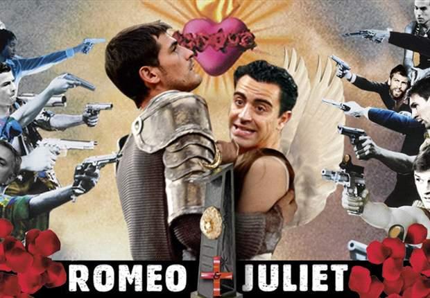 Iker Casillas y Xavi Hernández, un amor prohibido como el de Romeo y Julieta