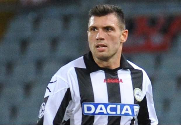 """Domizzi si incatena all'Udinese: """"Il contratto scade nel 2015, spero di continuare qui anche dopo"""""""