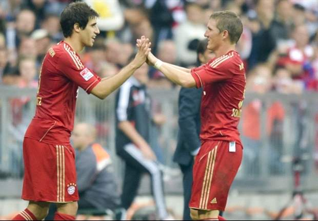 Schweinsteiger is a bull, says Javi Martinez