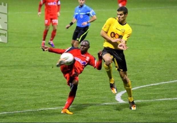 Medeama close in on Bnei Sakhin's Eric Gawu
