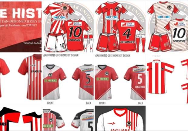 Fan-inspired jersey for Tanjong Pagar United FC