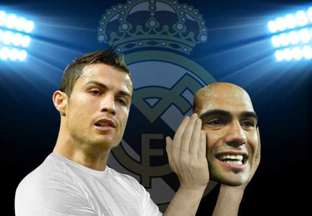 Radamel Falcao por Cristiano Ronaldo, el cambio que revolucionaría al Real Madrid