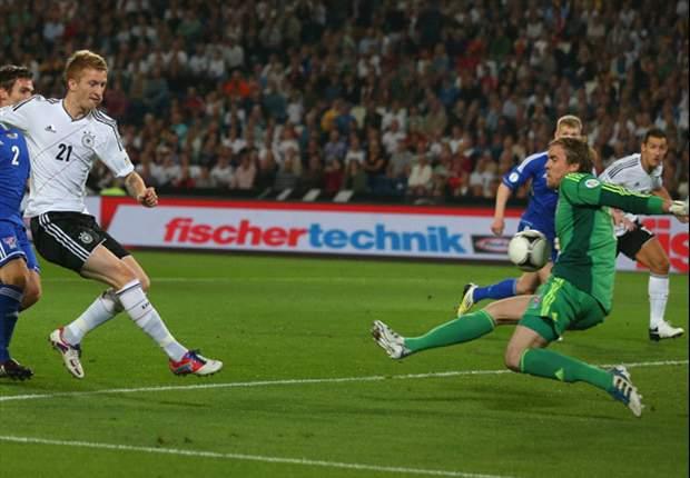 Alemania 3-0 Islas Feroe: Mesut Özil marca doblete en el triunfo teutón