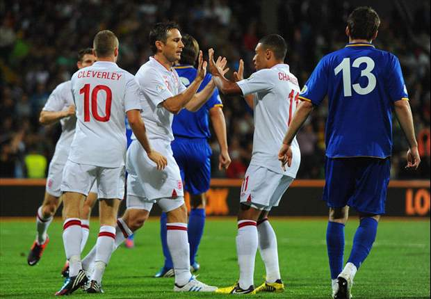 Lampard & Milner hail young England stars Oxlade-Chamberlain & Cleverley