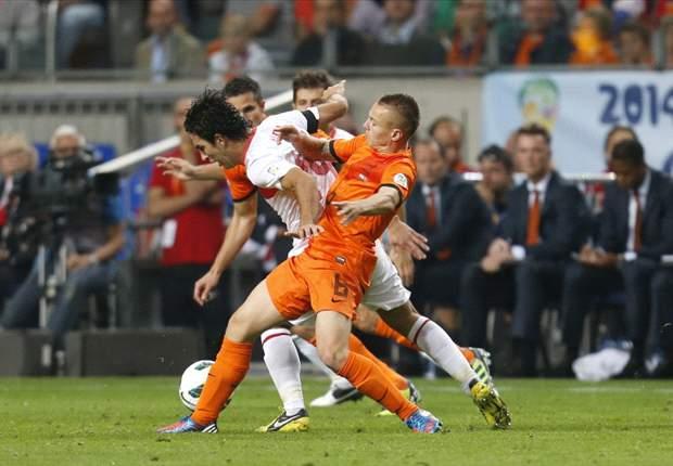 Niederlande gegen die Türkei: Robin van Persie und Narsingh machen den Unterschied aus