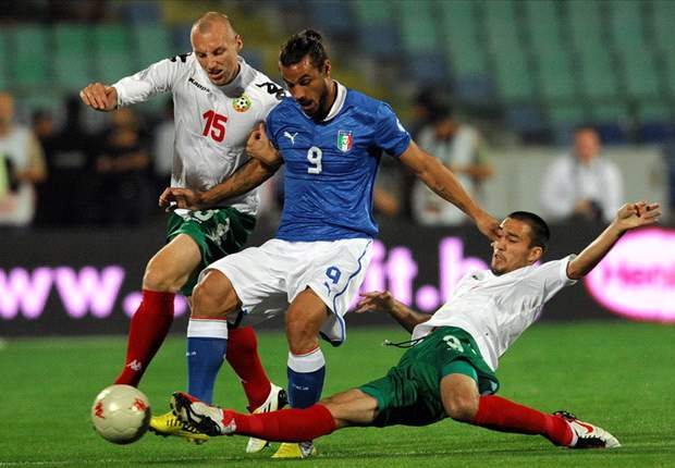 Bulgaria 2-2 Italy: Osvaldo double not enough for lacklustre Azzurri