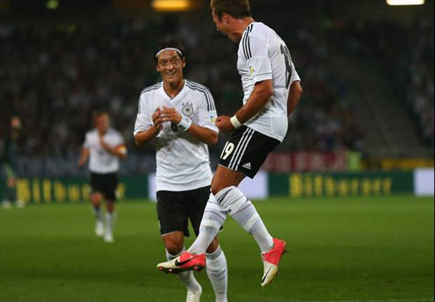 Germany 3-0 Faroe Islands: Ozil inspired in routine victory