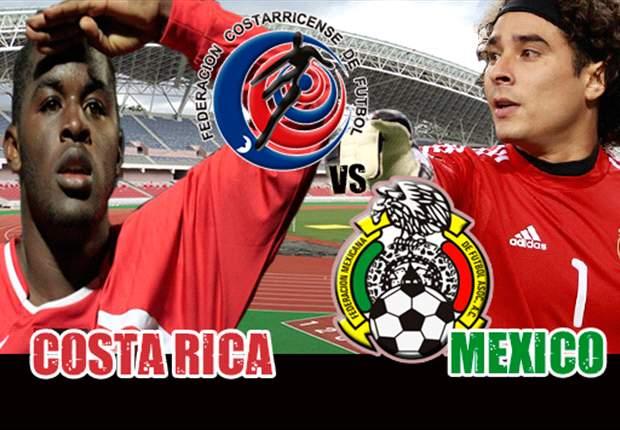 Costa Rica-México, ¡en vivo por las Eliminatorias!
