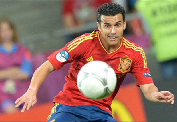 Pedro accepts bit-part role in Spain squad