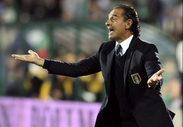 Prandelli: Italy have to be satisfied with Bulgaria draw