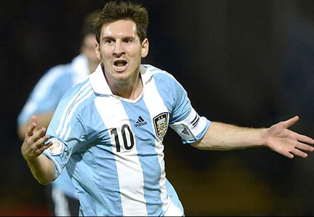 Messi is happy, says Argentina coach Sabella