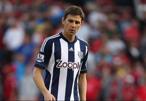 West Brom's Gera ruled out for the season with torn ACL