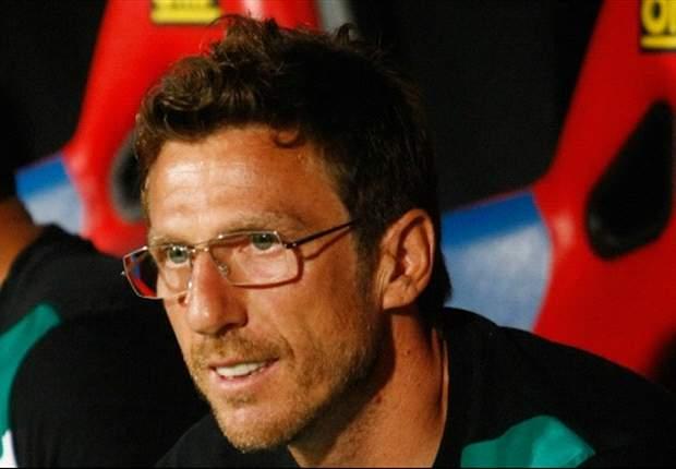 """Di Francesco orgoglioso del suo Sassuolo: """"Abbiamo dominato il match, adesso continuiamo così"""""""