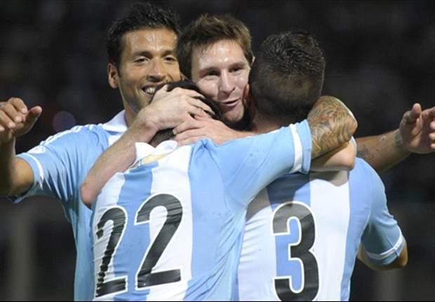 """Lionel Messi in Peru mit """"Ronaldo""""-Sprechchören empfangen"""