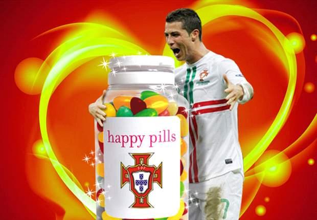 Cristiano Ronaldo es feliz en Portugal gracias a las gominolas
