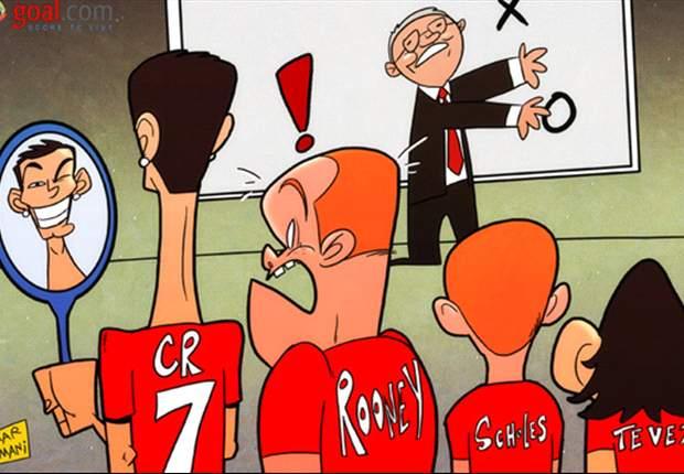 Rooney shockeado por la autoadmiración de Cristiano Ronaldo